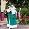 Father Christmas within the United Kingdom Pavilion