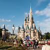 Approaching the Disney Castle