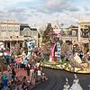 Festival of Fantasy Parade begins