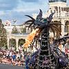Maleficent Dragon float