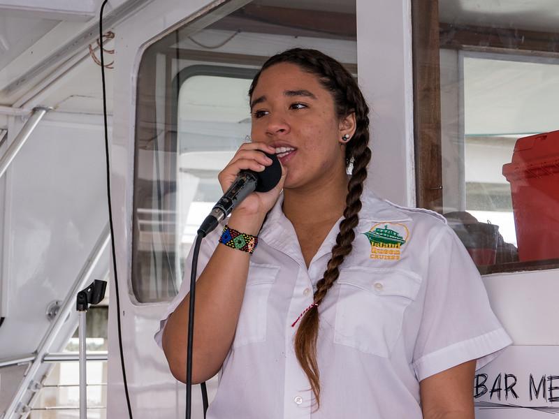 Island Queen cruise tour guide