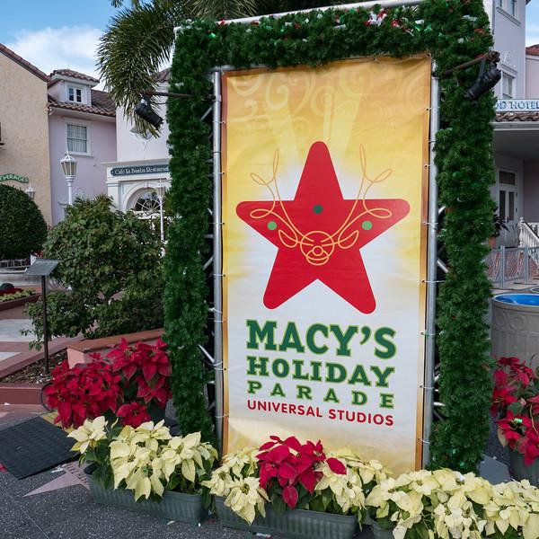Macy's Holiday Parade - December 16, 2015