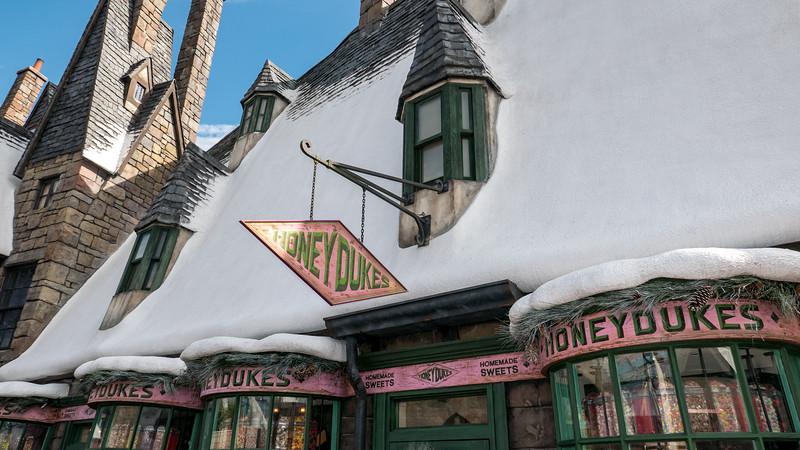 Honeydukes - Wizard sweets shop