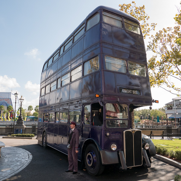 Knight Bus from Harry Potter