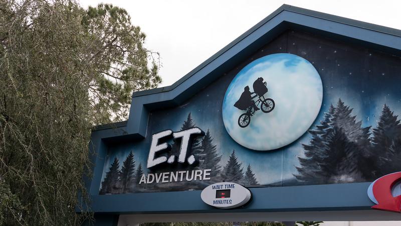 Universal Studios Day 2 - E.T. Adventure