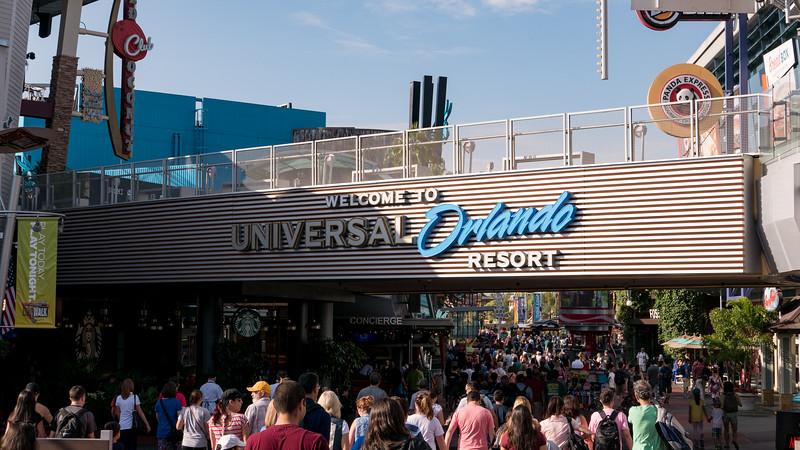 Universal Studios - December 16 & 17, 2015