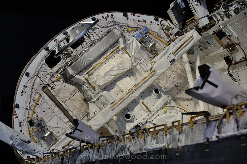Space Shuttle Atlantis Cargo Bay
