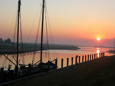 Ostfriesland, Greetsiel Harbor, Germany