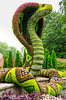 "Snake Art @ Imaginary World - ""A New Kingdom of Plant Giants"" @ Atlanta Botanical Garden  , Georgia - USA"