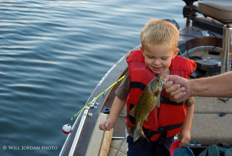 Take a kid fishing. Child. Children. Smallmouth Bass.