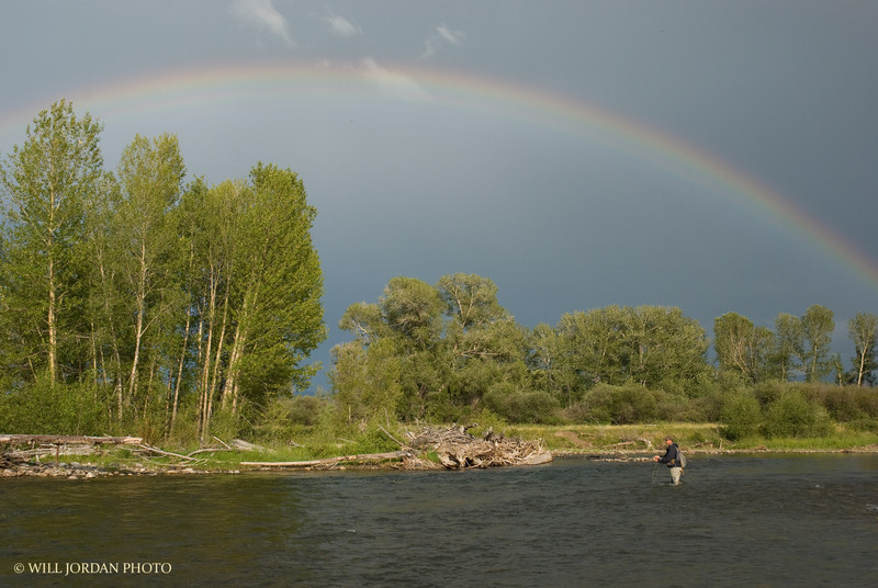 Montana Gallatin River Summer Rainbow