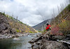 Montana Fall Westslope Cutthroat Trout Wilderness Bent Rod