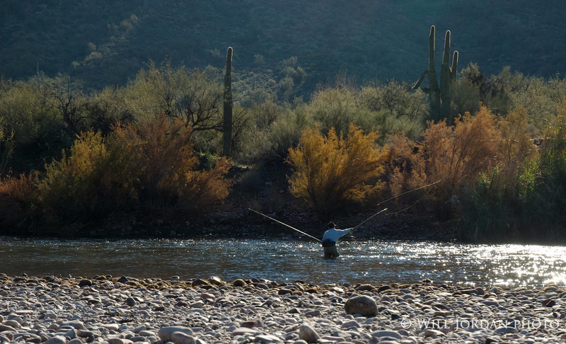 Arizona Salt River Tailwater Winter Phoenix