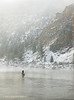 Montana Missouri River Winter Fishing Tailwater