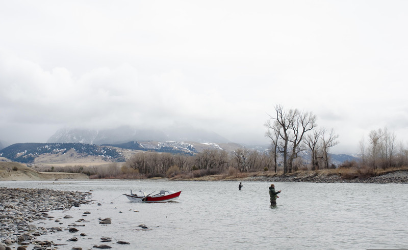 Montana Yellowstone River Paradise Valley Spring Fishing
