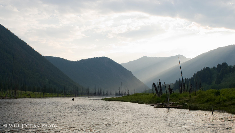 Between the Lakes. Madison River, MT