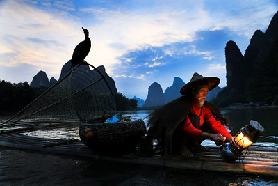 Li river fisherman