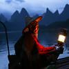 Classic fisherman on the Li river