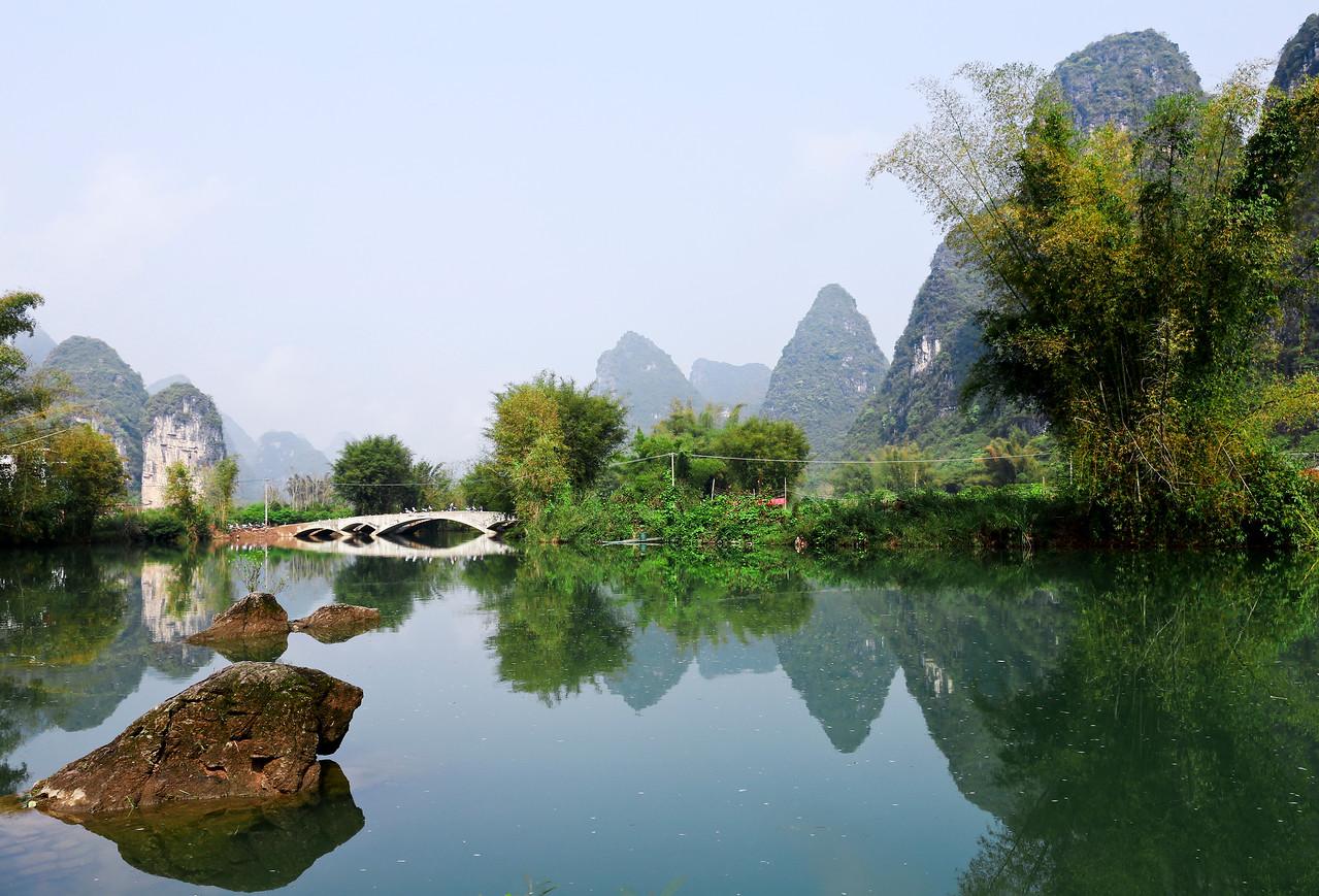 Yulong river scenery
