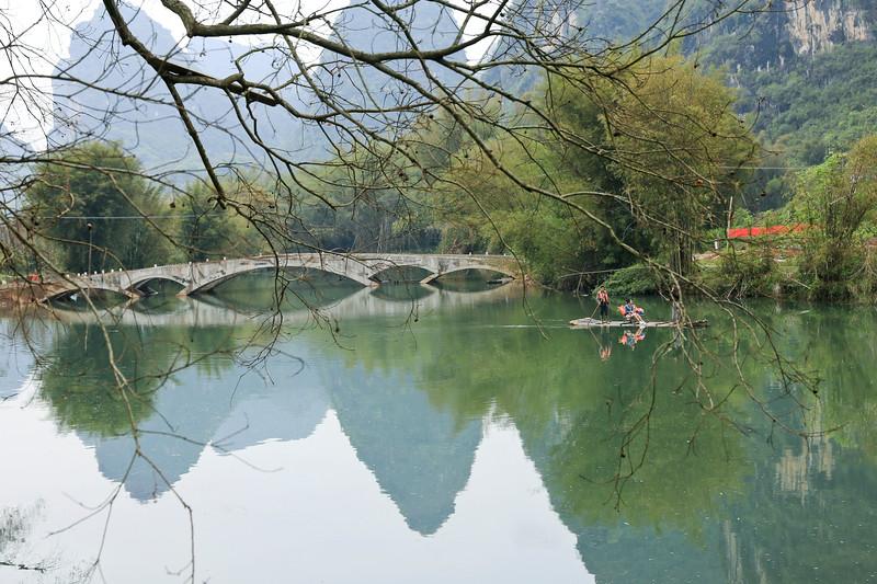Yulong river in spring