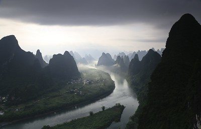 Moody Li river valley scenery