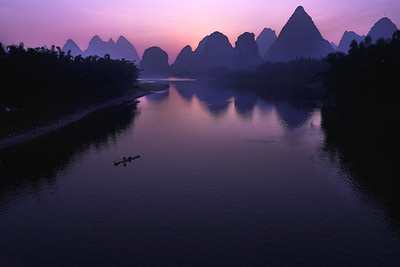 Li river at dawn