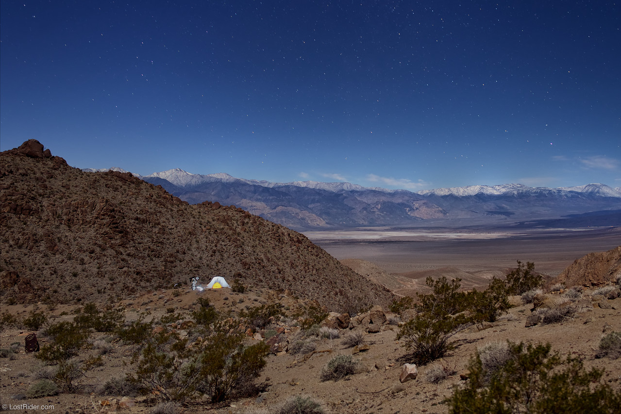 Sleeping on the Edge in Death Valley