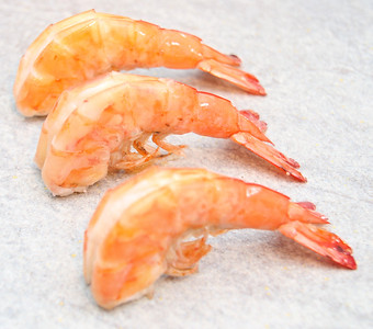 Delicious Shrimp ready to Eat