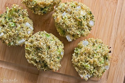 Quinoa Broccoli Egg Muffins