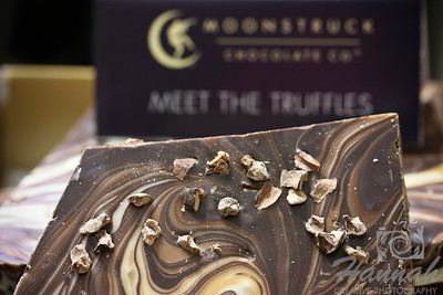 Triple bark chocolates from Moonstruck Chocolate Co. located in Oregon  © Copyright Hannah Pastrana Prieto
