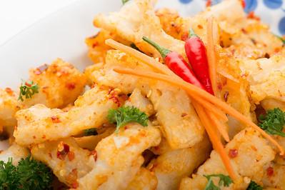 Spicy Crispy Squid