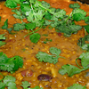 Tarka Dal with Coriander leaves ...