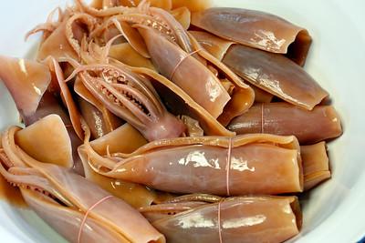Pickled Squid