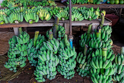 Fresh Bananas at Country Market