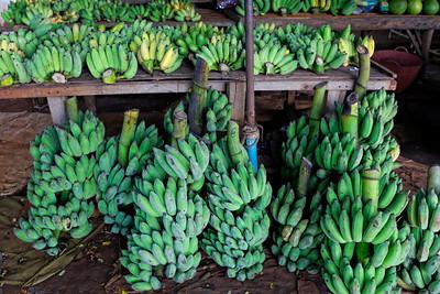Fresh Bananas at Country Market