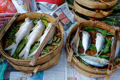 Steamed Fish, Chinatown,Bangkok