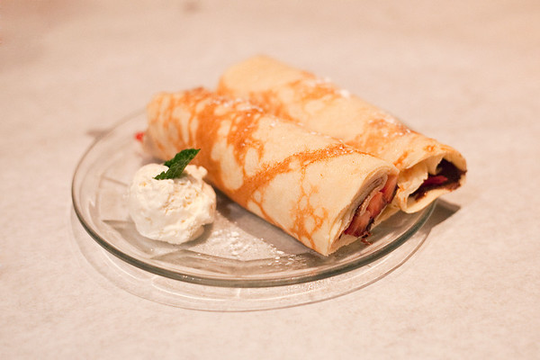 Food for Thought, Strawberry Nutella Crepes