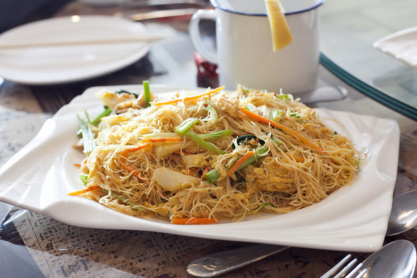 Peter Chang's, Singapore Rice Noodles with Vegetables