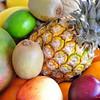 mix of fresh exotic fruits