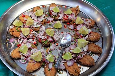 Fried Mackerel Thai Style