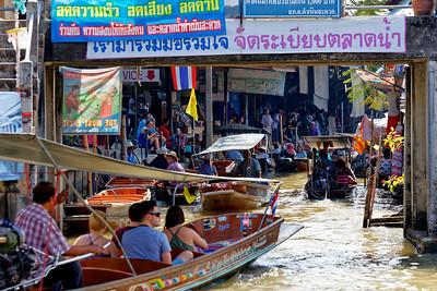 Damnoen Saduak Floating Market, Thailand (6)