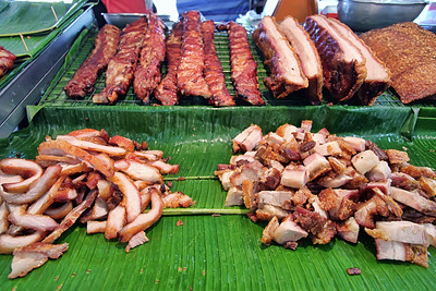 Roast Pork Display