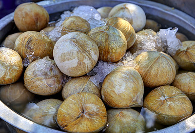 Cold Roasted Coconuts