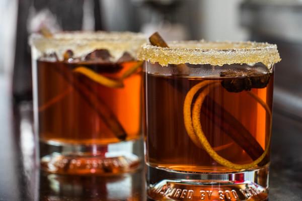 Spiced Bourbon Cocktail