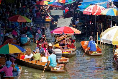 Damnoen Saduak Floating Market, Thailand (7)