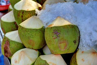 Cold Fresh Coconuts