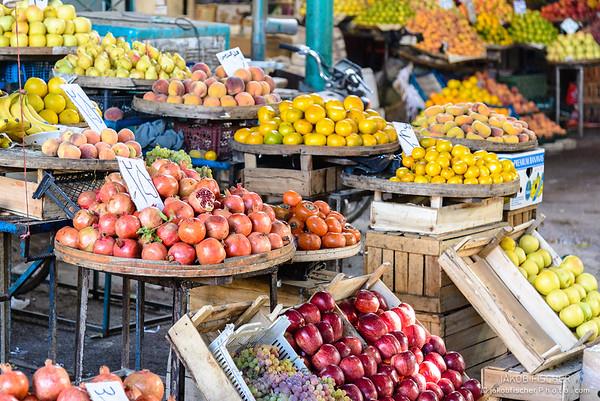 Fruitmarket in Qom