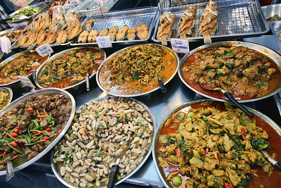 Assortment of Spicy Thai Curries