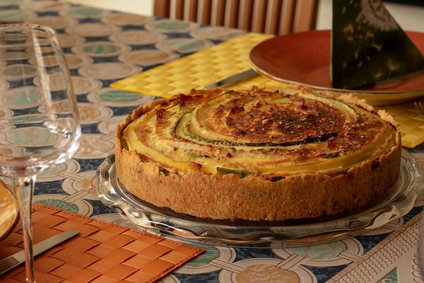 la tarte de l'asperge