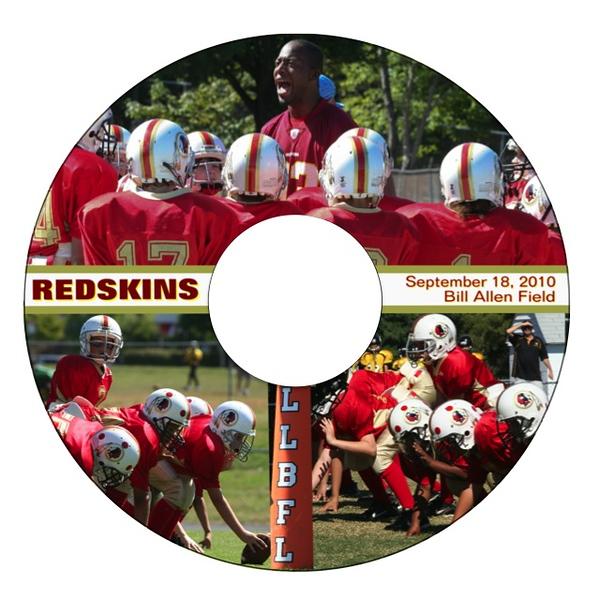 Redskins Game Video (Label)